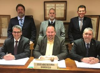 Picture of Borough Council taken on January 2, 2018.